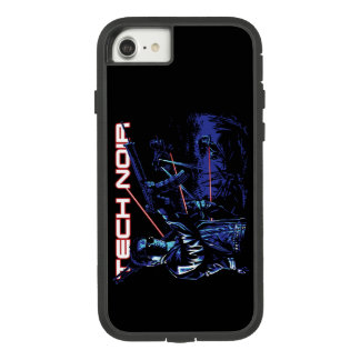 Coque Case-Mate Tough Extreme iPhone 7 Cas Noir de technologie de terminateur