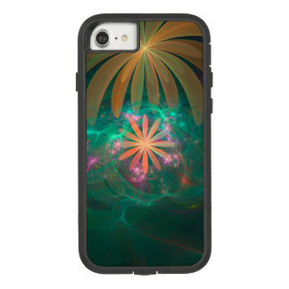 "Coque Case-Mate Tough Extreme iPhone 7 Fractale ""transe florale """