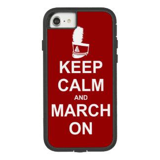 Coque Case-Mate Tough Extreme iPhone 7 La fanfare gardent le calme et mars dessus