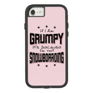 Coque Case-Mate Tough Extreme iPhone 7 NE PAS FAIRE DU SURF DES NEIGES GRINCHEUX (noir)