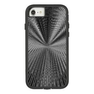 Coque Case-Mate Tough Extreme iPhone 7 Noir et blanc de rétroaction d'infini