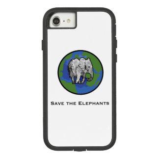Coque Case-Mate Tough Extreme iPhone 7 Sauvez les éléphants