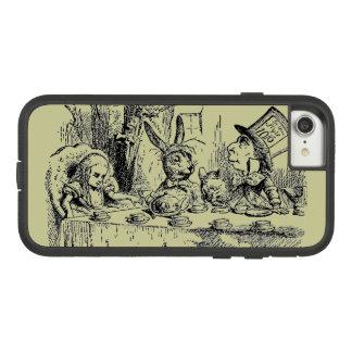 Coque Case-Mate Tough Extreme iPhone 8/7 Alice vintage au pays des merveilles