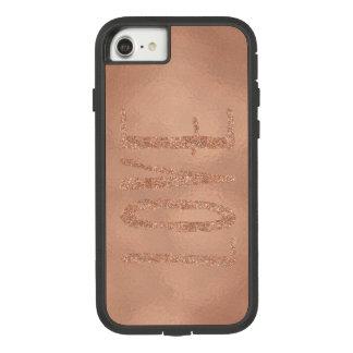 Coque Case-Mate Tough Extreme iPhone 8/7 Amour rose de charme d'or