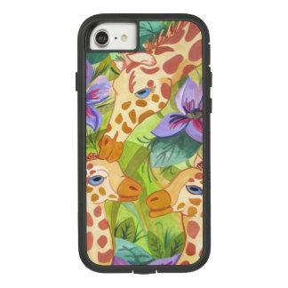 Coque Case-Mate Tough Extreme iPhone 8/7 Baisers, mère et bébés de girafe