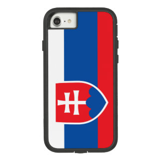 Coque Case-Mate Tough Extreme iPhone 8/7 Drapeau de la Slovaquie