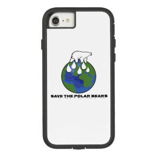 Coque Case-Mate Tough Extreme iPhone 8/7 Sauvez les ours blancs