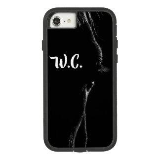 Coque Case-Mate Tough Extreme iPhone 8/7 Silhouette de cheval noir et blanc