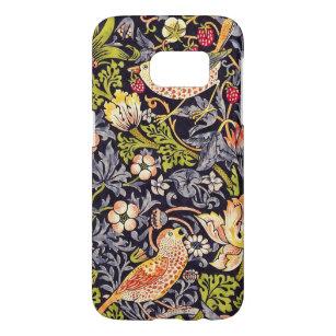 Coque Samsung Galaxy S7 Art floral Nouveau de voleur de fraise de William