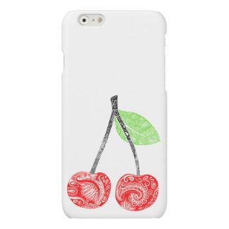 Coque cerises Case cherries
