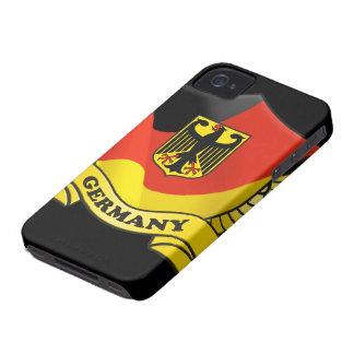 Coque-Compagnon de l'iPhone 4/4S de drapeau de l'A