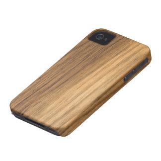 Coque-Compagnon en bois de l'iPhone 4 de grange de Étui iPhone 4