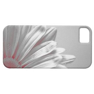 Coque-Compagnon floral rouge de l'iPhone 5 de poin