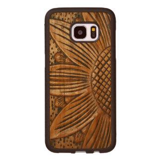 Coque En Bois Galaxy S7 Edge Beau bois en bois élégant d'impression de