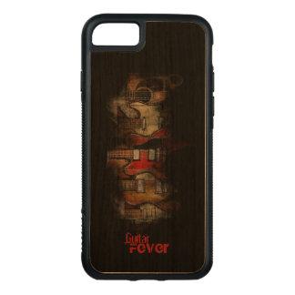 Coque En Bois iPhone 7 Caisse de portable de l'iPhone 7 de fièvre de