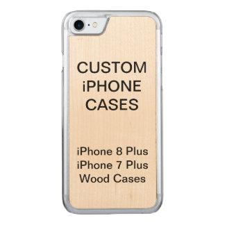 Coque En Bois iPhone 7 iPhone en bois personnalisé par coutume 8/7 cas