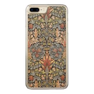 Coque En Bois iPhone 7 Plus Art de cru de William Morris Snakeshead GalleryHD