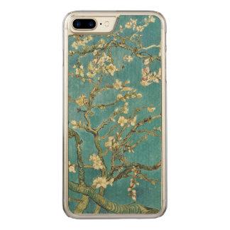 Coque En Bois iPhone 7 Plus Beaux-arts de GalleryHD de fleur d'amande de