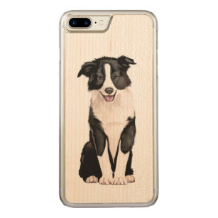 coque iphone 7 border collie