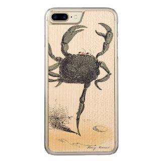 Coque En Bois iPhone 7 Plus Crustacé de danse sur le bois