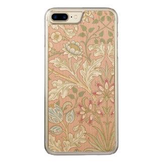 Coque En Bois iPhone 7 Plus Jacinthe vintage GalleryHD de William Morris de