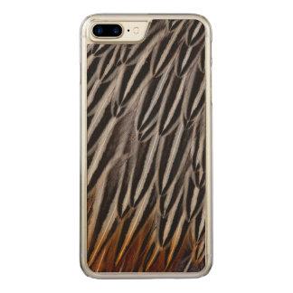 Coque En Bois iPhone 7 Plus Le coq de jungle fait varier le pas du plan