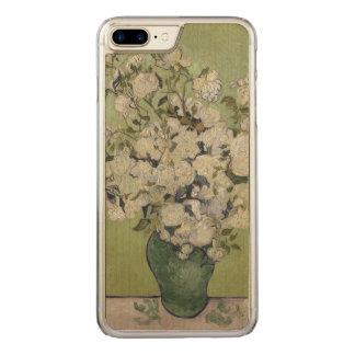 Coque En Bois iPhone 7 Plus Roses par le cru de Vincent van Gogh GalleryHD