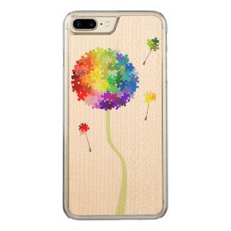 Coque En Bois iPhone 7 Plus Souhaits de pissenlit de sensibilisation sur