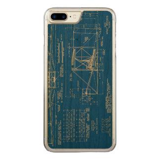 """Coque En Bois iPhone 7 Plus Wright Bros. Modèle 1903 de """"insecte"""""""