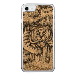 Coque En Bois iPhone 7 Tigre de la montagne