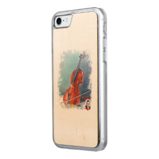 Coque En Bois iPhone 7 Violon/Violon