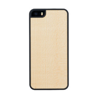 Coque En Bois iPhone SE/5/5s Cas mince en bois de l'iPhone 5/5s