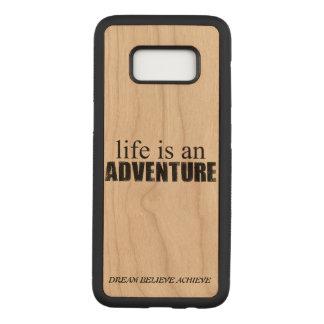Coque En Bois Samsung Galaxy S8 Caisse en bois de la galaxie S8 de Samsung de