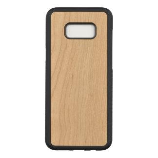 Coque En Bois Samsung Galaxy S8 Plus Caisse mince découpée pour la galaxie S8 de