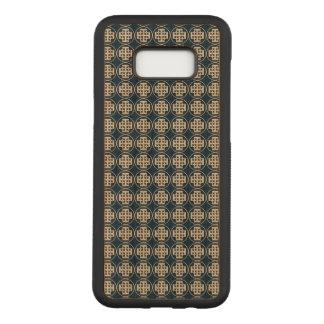Coque En Bois Samsung Galaxy S8 Plus La croix de Jérusalem