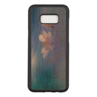 Coque En Bois Samsung Galaxy S8 Plus Magnolias dans la fleur