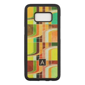 Coque En Bois Samsung Galaxy S8 Rétro génial coloré inspiré