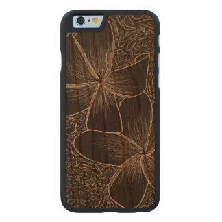 Coque En Cerisier iPhone 6 Case caisse en bois de cerise de butoir de l'iPhone