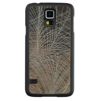 Coque En Érable Galaxy S5 Case Abrégé sur gris plume