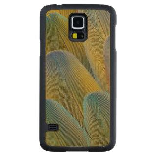 Coque En Érable Galaxy S5 Case Abrégé sur plume d'ara de Camelot