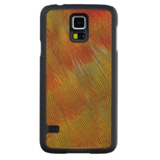 Coque En Érable Galaxy S5 Case Abrégé sur plume de Jenday Conure