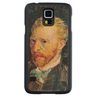 Coque En Érable Galaxy S5 Case Autoportrait de Vincent van Gogh |, 1887