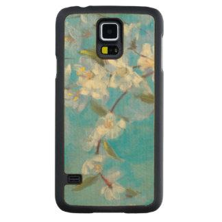 Coque En Érable Galaxy S5 Case Branches fleurissantes