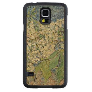 Coque En Érable Galaxy S5 Case Branches se développantes de châtaigne de Vincent