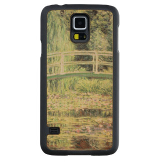 Coque En Érable Galaxy S5 Case Claude Monet | Nenuphars blanc, 1899