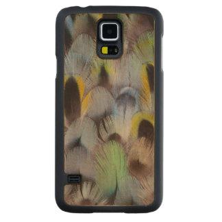 Coque En Érable Galaxy S5 Case Conception de plume de Rosella