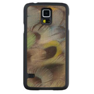Coque En Érable Galaxy S5 Case Conception en pastel de plume de Rosella