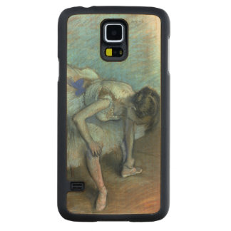 Coque En Érable Galaxy S5 Case Danseur assis par | d'Edgar Degas, c.1881-83