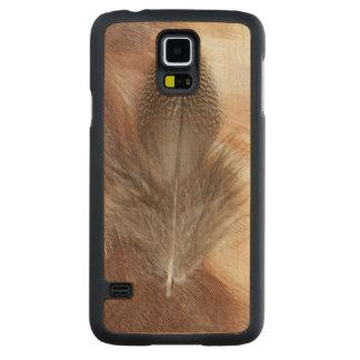Coque En Érable Galaxy S5 Case D'oie de plume toujours la vie égyptienne