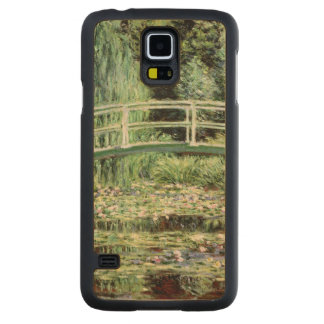 Coque En Érable Galaxy S5 Case Nénuphars de blanc de Claude Monet |, 1899